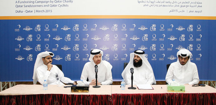 QC launches 'Cyclists for Education' initiative