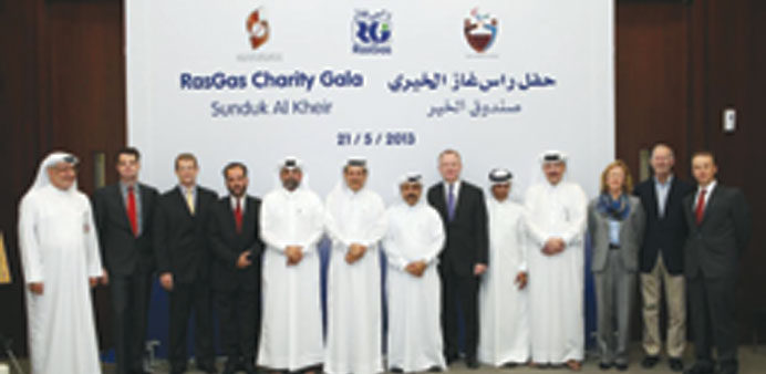 RasGas donates QR1.4mn to QPC, centre for deaf