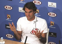Modest hopes for Federer ahead of injury comeback