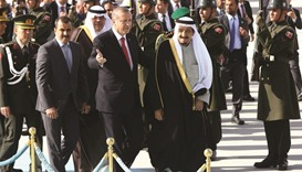 Red carpet welcome for King Salman in Turkey
