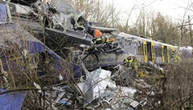 Two commuter trains crashed in Germany