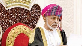 Oman's Sultan Qaboos home after 'good' health check in Germany