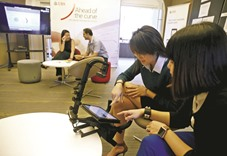 Tech start-ups snap at the heels of Asian private bankers