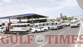 Long queues at petrol stations continue to take their toll on motorists