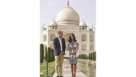 William, Kate end India trip with visit to the Taj