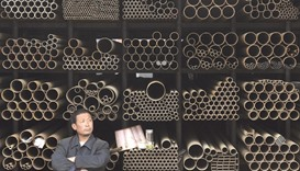 China's crude steel output hits record high in March
