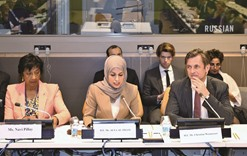 Qatar's mission to UN holds meeting on Syria war crimes