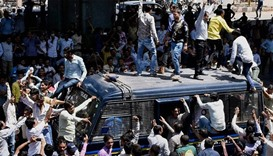 Hundreds detained as Indian caste protest turns violent