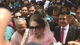 Court rejects Khaleda's plea, defers hearing