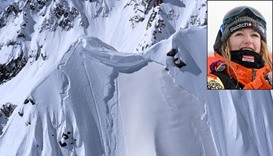 Swiss snowboaring champ dies in avalanche during film shoot