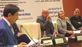 Al-Kuwari highlights importance of culture in promoting peace