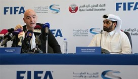 Infantino asserts 2022 World Cup will be in Qatar