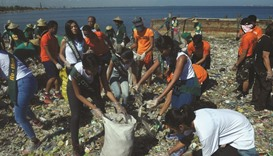 Clean-up campaign marks Earth Day
