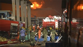 China chemical blaze extinguished, but may affect thousands