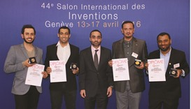 Qatari inventors win medals