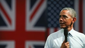 Obama tells British youth: Don't pull back from the world
