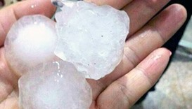 Eight killed as 'golf ball' hailstones, storms lash Myanmar