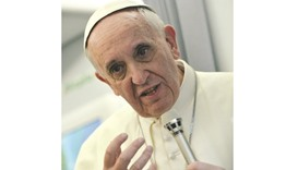Happiness not an app, says Pope