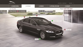JLR launches  online vehicle  configurators