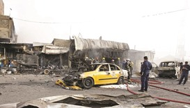 Bomb in Baghdad leaves 11 dead