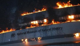 Fire at Indian museum destroys rare collections