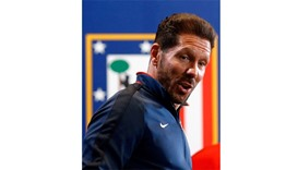 Simeone to miss Atletico title run after touchline ban
