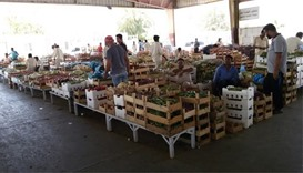 Vegetable, fruit prices fall at Central Market