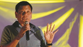 Duterte faces allegations of holding 'undeclared' assets
