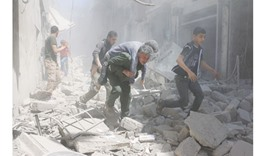 Violence as Aleppo excluded from truce