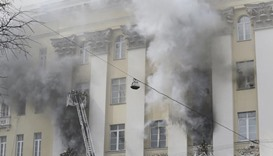 Moscow fire