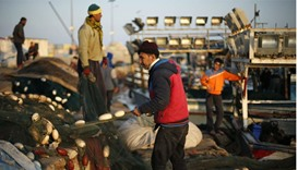 Gaza fishermen test waters after blockade eased