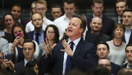 Cameron says he does not own any shares, offshore funds