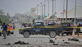 Three killed in Mogadishu army camp attack