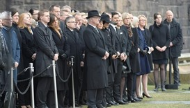 Sweden observes minute's silence for attack victims