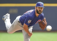 Cubs rough up Davies in 7-4 win over Brewers
