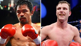 Philippines' Pacquiao eyes July 2 Horn fight