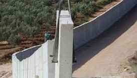 Turkey completes 556-Km border wall with Syria