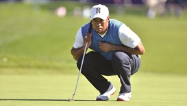 Tiger Woods won't play the Masters
