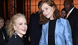 Nicole Kidman and Isabelle Huppert