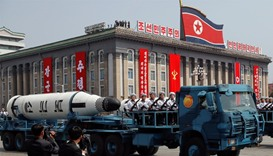 N Korea missile test fails after showcase parade
