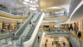 Abu Dhabi's $1bn mall with indoor snow park delayed