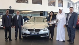 Gulf Times, Al-Raya readers receive Mini Cooper, BMW cars