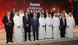 Forbes Middle East fetes Qatar's top 40 companies
