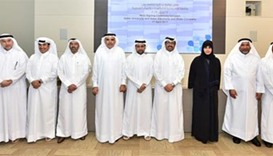 QU, QEWC sign pact for collaboration on water treatment