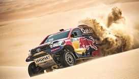 Al-Attiyah, al-Rajhi, al-Qassimi to renew old rivalries in Qatar