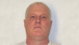 Death row inmate Don Davis, scheduled for execution in Arkansas