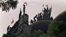 Mosque demolition: Indian minister, leaders to be tried