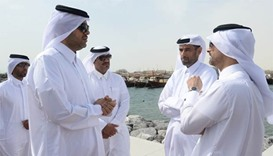 Wakrah Harbour renovation completed on schedule