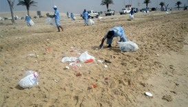 Animal carcasses, waste cleared from Qatar's beaches