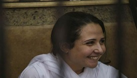 Egyptian-American woman freed in Egypt goes home